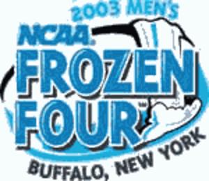 2003 NCAA Division I Men's Ice Hockey Tournament - 2003 Frozen Four logo