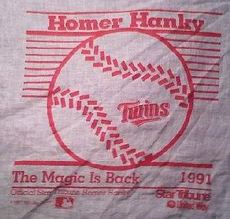 Homer Hanky - Image: 91hankycrop