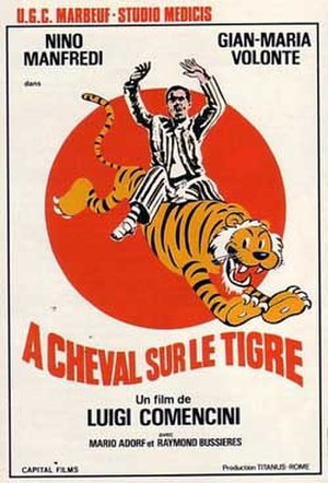 On the Tiger's Back - Image: A cavallo della tigre (1961 film)
