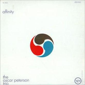 Affinity (Oscar Peterson album) - Image: Affinityoscar