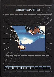 <i>Dreamscapes</i> 1999 box set by Alphaville