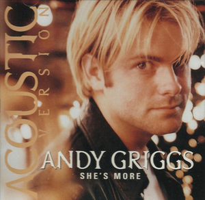 She's More - Image: Andy Griggs Shes More single