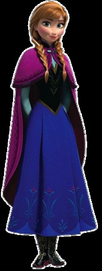 Anna (Frozen) - Anna as she appears in Disney's Frozen