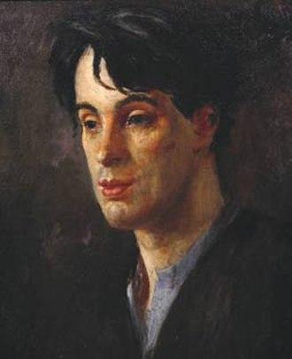 Augustus John - W.B. Yeats (1907)