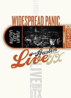 Live from Austin Texas (Widespread Panic album) - Image: Austincitylimitscove r