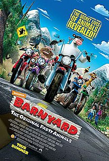 What is the name of the chicken in the Barnyard movie?
