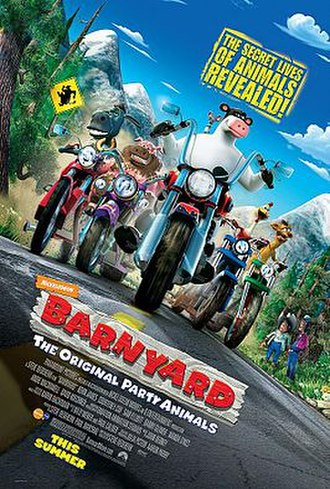 Barnyard (film) - Theatrical release poster