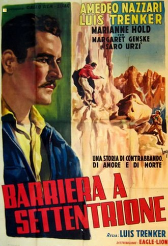 Barrier to the North - Image: Barrier to the North poster