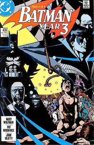 Batman: Year Three - Image: Batman Year Three 1 cover
