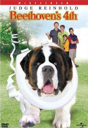 Beethoven's 4th (film) - DVD cover