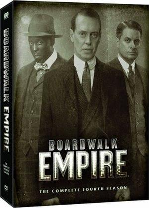 Boardwalk Empire (season 4) - DVD cover
