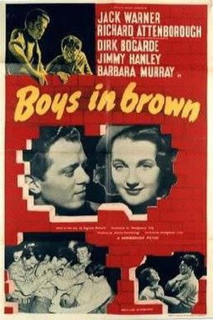 Boys in Brown - Image: Boys in Brown Film Poster