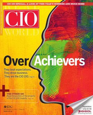 CIO magazine - Image: CIO magazine cover
