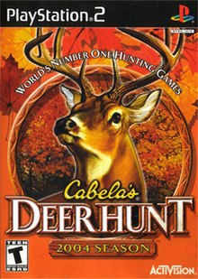 cabelas deer hunt sony playstation game