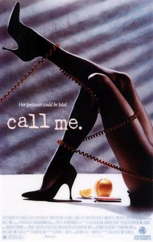 Call Me (film) - Theatrical release poster