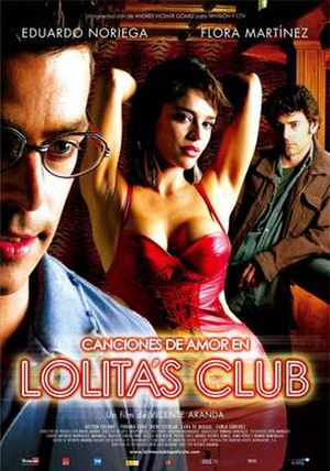 Lolita's Club - Theatrical release poster
