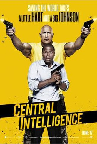 Central Intelligence - Theatrical release poster