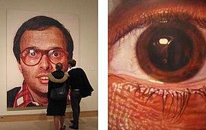 Chuck Close - Image: Chuck Close 1
