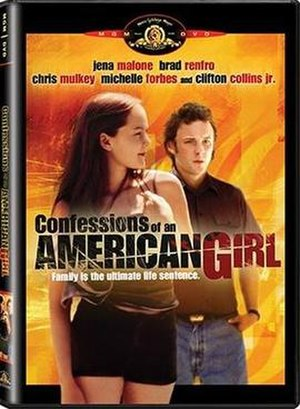 American Girl (film) - DVD cover
