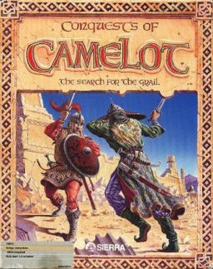 Conquests of Camelot: The Search for the Grail - Amiga/DOS cover art