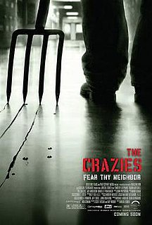 <i>The Crazies</i> (2010 film) 2010 American horror film by Breck Eisner