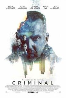 <i>Criminal</i> (2016 film) 2015 film by Ariel Vromen