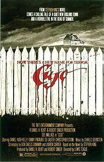 <i>Cujo</i> (film) 1983 film by Lewis Teague