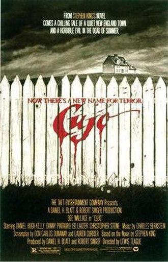 Cujo (film) - Theatrical release poster