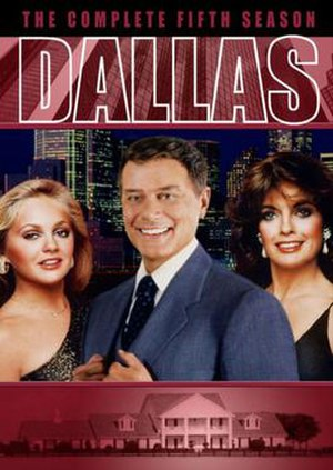 Dallas (1978 TV series) (season 5) - Image: Dallas (1978) Season 5 DVD cover