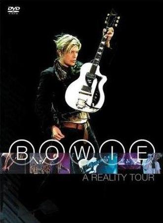A Reality Tour (film) - Image: David Bowie A Reality Tour DVD