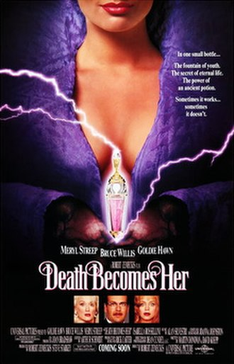 Death Becomes Her - Theatrical release poster