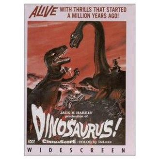 Dinosaurus! - DVD cover (2002)