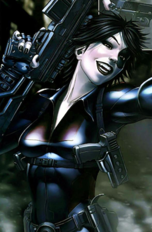 Domino (comics) - Image: Domino X Force Vol 3 8