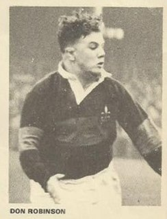 Don Robinson (rugby league) GB & England international rugby league footballer and coach
