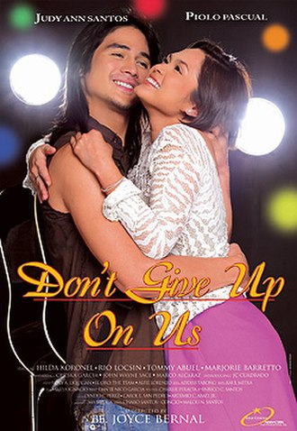 Don't Give Up on Us (film) - Don't Give Up on Us Official Poster