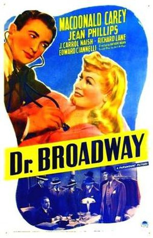 Dr. Broadway - Theatrical release poster