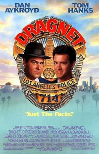 Dragnet (1987 film) - Theatrical poster