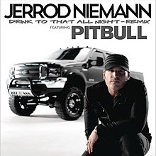 Cover for remix featuring Pitbull