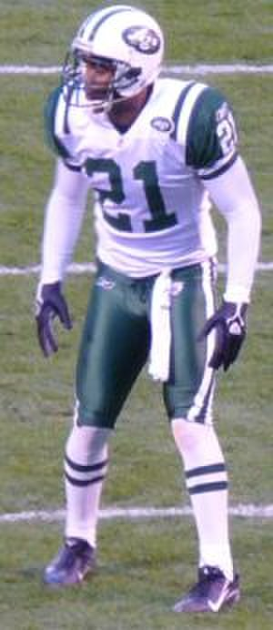 Andre Dyson - Andre Dyson during his tenure with the Jets.