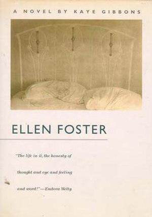 Ellen Foster - cover of 1987 hardcover version of Ellen Foster