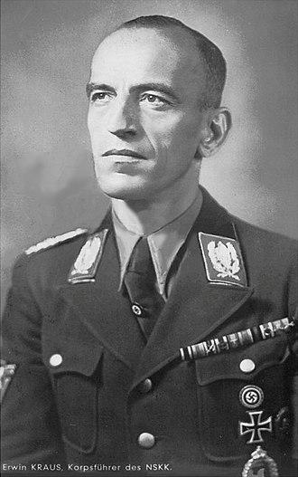 Korpsführer - Image: Erwin Kraus