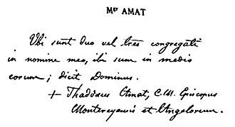 Thaddeus Amat y Brusi - Image: Father Amat