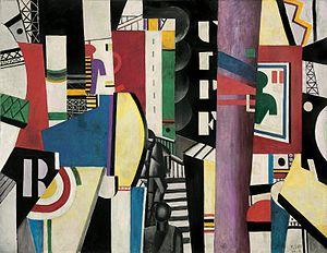 The City (Léger) - Image: Fernand Léger, 1919, The City (La Ville), oil on canvas, 231.1 x 298.4 cm, Philadelphia Museum of Art