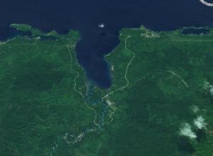 Finschhafen District - Satellite view
