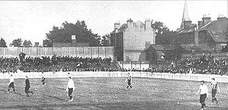 White Hart Lane - First match at White Hart Lane, Spurs vs Notts County, 4 September 1899.