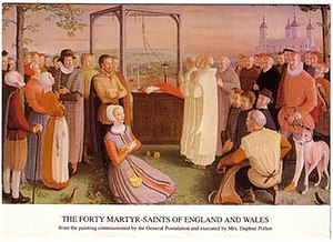 Anti-Catholicism in the United Kingdom - Forty Martyrs of England and Wales
