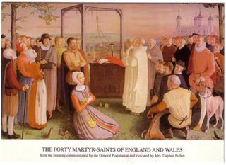 Forty Martyrs of England and Wales group of humans