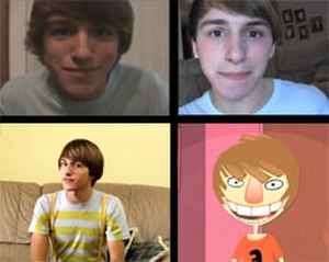 Fred Figglehorn - Image: Four faces of Fred Figglehorn