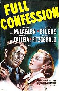 <i>Full Confession</i> 1939 film by John Farrow