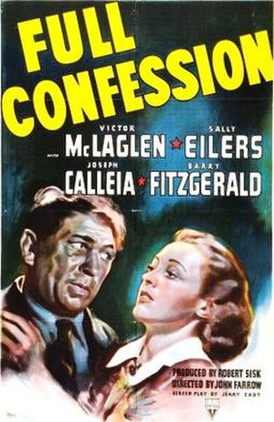 Full Confession - Theatrical release poster